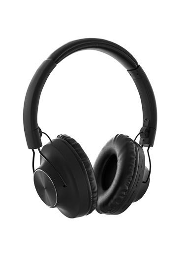 MF Product MF Product Acoustic 0129 Mikrofonlu Kulak Üstü Kablosuz tooth Kulaklık Siyah